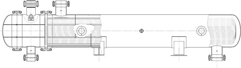Теплообменник авз Подогреватель низкого давления ПН 800-29-7 IVA Невинномысск
